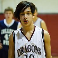 Drew Boys JV basketball 010811