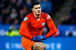 Arijanet Muric of Manchester City - Mandatory by-line: Robbie Stephenson/JMP - 18/12/2018 - FOOTBALL - King Power Stadium - Leicester, England - Leicester City v Manchester City - Carabao Cup Quarter Finals