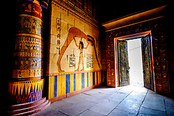 Part of the set of the film Cleopatra which was filmed at the Atlas film studios near Ouarzazate, Morocco<br /> <br /> (c) Andrew Wilson | Edinburgh Elite media