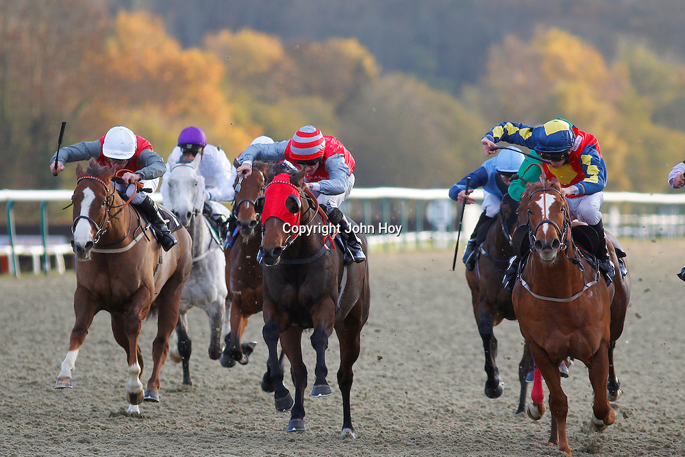 Picansort and Shane Kelly winning the 2.35 race