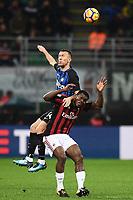 Ivan Perisic Inter, Franck Kessie Milan <br /> Milano 27-12-2017 Stadio Giuseppe Meazza in San Siro Calcio Coppa Italia Milan - Inter foto Image Sport/Insidefoto