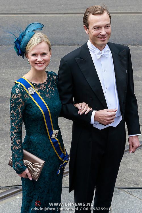 NLD/Amsterdam/20130430 - Inhuldiging Koning Willem - Alexander, Prinses Juliana Jr. en partner Alex Brenninckmeijer