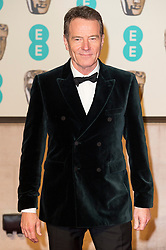 © Licensed to London News Pictures. 14/02/2016. London, UK. BRYAN CRANSTON arrives on the red carpet for the EE British Academy Film Awards 2016 after party held at Grosvenor House . London, UK. Photo credit: Ray Tang/LNPPhoto credit: Ray Tang/LNP