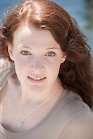Claire Donohue senior portrait session.  Karen Bobotas Photographer