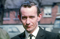 Oliver Napier, solicitor, Belfast, N Ireland, founder member, Alliance Party of N Ireland. 197004210135<br /> <br /> Copyright Image from Victor Patterson,<br /> 54 Dorchester Park, <br /> Belfast, UK, BT9 <br /> <br /> t1: +44 28 9066 1296 (from Rep of Ireland 048 90661296)<br /> t2: +44 28 9002 2446 (from Rep of Ireland 048 9002 2446)<br /> <br /> m: +44 7802 353836<br /> <br /> e: victorpatterson@me.com<br /> www.victorpatterson.com<br /> <br /> Please see my Terms and Conditions of Use at www.victorpatterson.com. It is IMPORTANT that you familiarise yourself with them.<br /> <br /> Images used on the Internet must be visibly watermarked i.e. © Victor Patterson<br /> within the body of the image and copyright metadata must not be deleted. Images <br /> used on the Internet have a size restriction of 4kbs and will be chargeable at current<br />  NUJ rates unless agreed otherwise.<br /> <br /> This image is only available for the use of the recipient i.e. television station, newspaper, magazine, book publisher, etc, and must not be passed on to any third party. It is also downloaded on condition that each and every usage is notified within 7 days to victorpatterson@me.com<br /> <br /> The right of Victor Patterson to be identified as the author is asserted in accordance with The Copyright Designs And Patents Act (1988). All moral rights are asserted.
