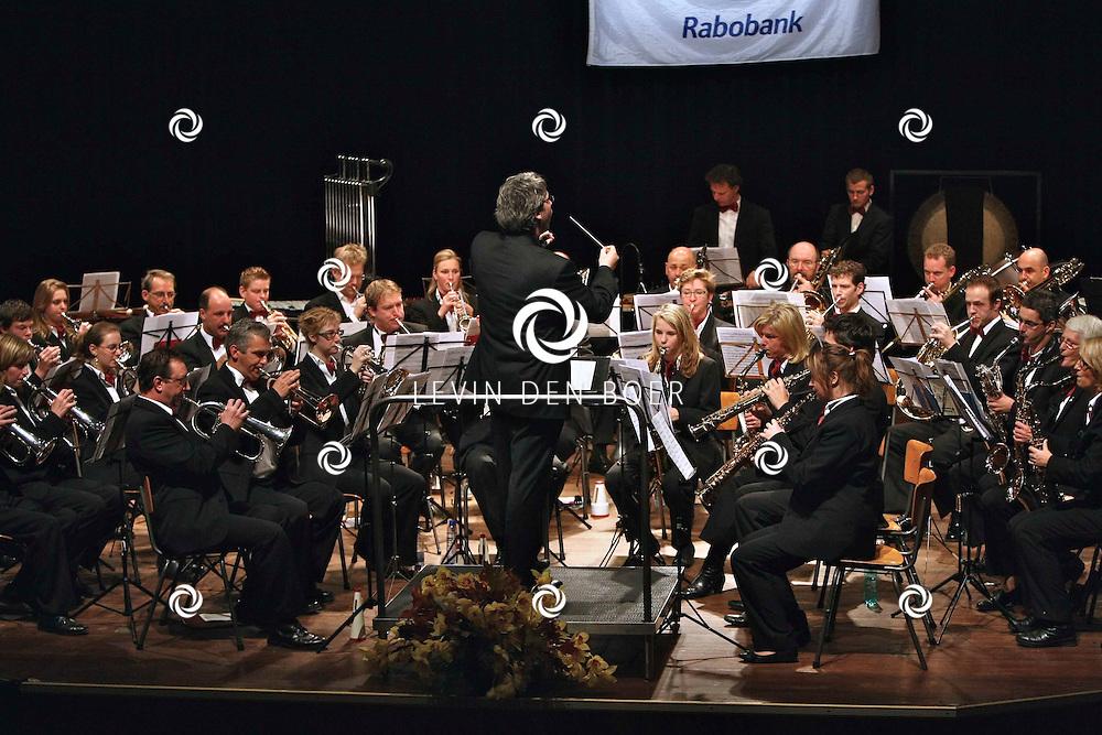 ZALTBOMMEL - In de Poorterij was de Rabo Muziekcup weer in volle gang. Met op de Foto de fanfare uit Ammerzoden. FOTO LEVIN DEN BOER / PERSFOTO.NU