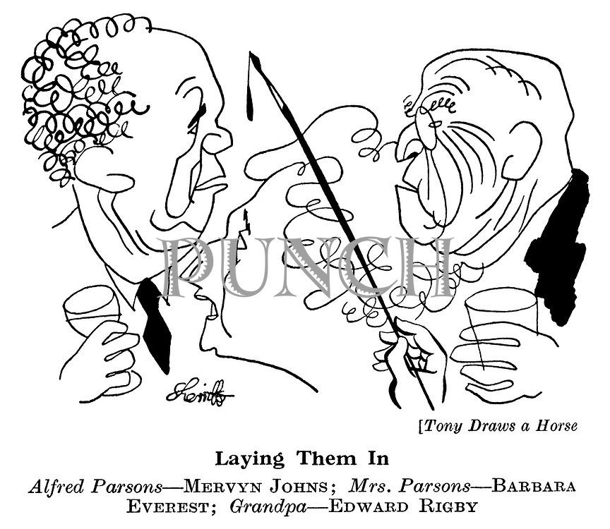 Tony Draws a Horse ; Mervyn Johns, Barbara Everest and Edward Rigby