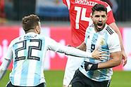 Russia v Argentina - 11 November 2017