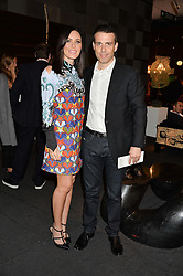 WILL & LINZI STOPPARD at the PAD London 10th Anniversary Collector's Preview, Berkeley Square, London on 3rd October 2016.
