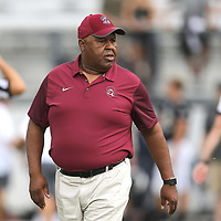 ORLANDO, FL - SEPTEMBER 08:  Head coach Oliver Pough of the South Carolina State Bulldogs is seen during a football game against the UCF Knights at Spectrum Stadium on September 8, 2018 in Orlando, Florida. (Photo by Alex Menendez/Getty Images) *** Local Caption *** Oliver Pough