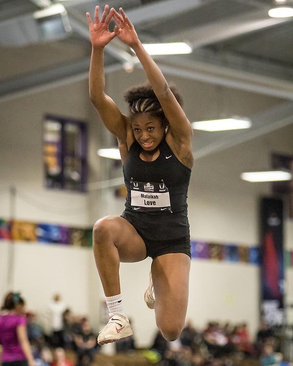USATF Indoor Track & Field Championships: womens triple jump, Malaikah Love