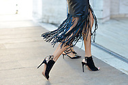 Black Leather Fringe, Outside BCBG