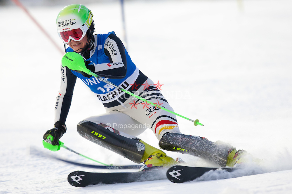 20.12.2011, Hermann Maier Piste, Flachau, AUT, FIS Weltcup Ski Alpin, Damen, Slalom 1. Durchgang, im Bild Fanny Chmelar (GER) // Fanny Chmelar of Germany during Slalom 1st run at FIS Ski Alpine Worldcup at Hermann Maier Pist in Flachau, Austria on 2011/12/20. EXPA Pictures © 2011, PhotoCredit: EXPA/ Johann Groder