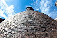 Brick Bottle Kilns at Gladstone Pottery, Langton, UK