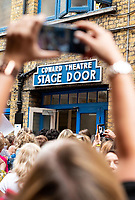 nöel coward theatre, noel coward theatre,  theatreland, stage door, west end, theatre, stage,