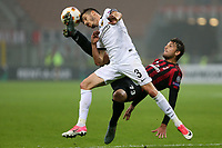 Milano - 19.10.2017 - Milan-AEK Atene - Europa League   - nella foto:  Manuel Locatelli su  Helder Lopes