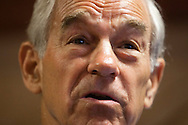 Republican presidential candidate Ron Paul campaigns on Monday, July 25, 2011 in Cedar Rapids, IA.