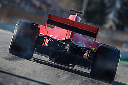 March 7, 2018 - Barcelona, Catalonia, Spain - SEBASTIAN VETTEL (GER) takes to the track in his Ferrari SF-71H during day six of Formula One testing at Circuit de Catalunya (Credit Image: © Matthias Oesterle via ZUMA Wire)
