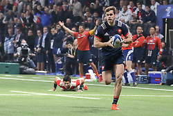 November 25, 2017 - Paris, France - Damian Penaud in action during the International test match between France and Japan at U Arena. (Credit Image: © Nicolas Briquet/SOPA via ZUMA Wire)