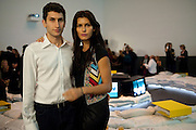 KARIM FAYED; BRENDA COSTA,  Launch party for Above magazine. Serpentine Gallery. London. 11 December 2009