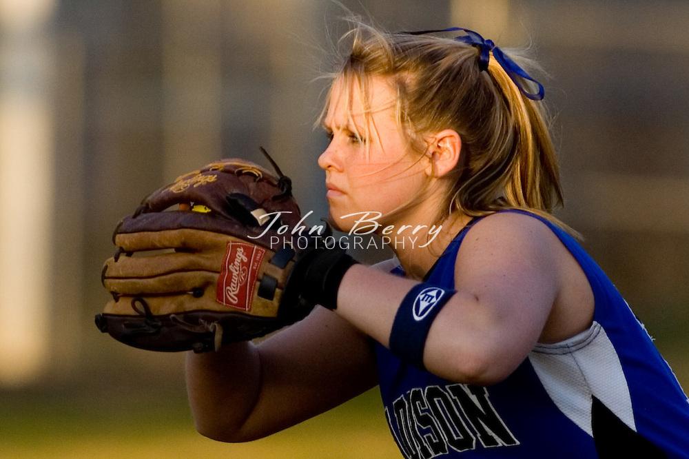 MCHS Varsity Softball.vs Page.April 3, 2007