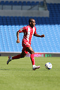Gael Kakuta of Sevilla during the Pre-Season Friendly match between Brighton and Hove Albion and Sevilla at the American Express Community Stadium, Brighton and Hove, England on 2 August 2015. Photo by Stuart Butcher.
