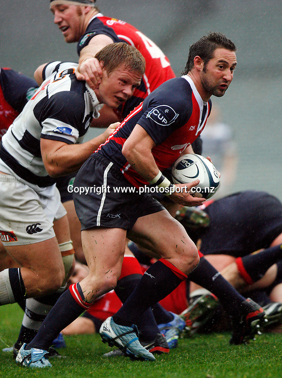 Ben Gollings in action during the Air New Zealand Cup rugby union match between Auckland and Tasman at Eden Park, Auckland, New Zealand on Sunday 6 August, 2006. Auckland won the match 46 - 6. Photo: Evan Barnes/PHOTOSPORT<br />
