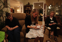 Christmas at Shirley (Granny) and Anne's with the Palmers, Saturday, Dec. 24, 2011 at Futch Home in Louisville.