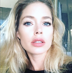 """Doutzen Kroes releases a photo on Instagram with the following caption: """"\ud83d\udc44"""". Photo Credit: Instagram *** No USA Distribution *** For Editorial Use Only *** Not to be Published in Books or Photo Books ***  Please note: Fees charged by the agency are for the agency's services only, and do not, nor are they intended to, convey to the user any ownership of Copyright or License in the material. The agency does not claim any ownership including but not limited to Copyright or License in the attached material. By publishing this material you expressly agree to indemnify and to hold the agency and its directors, shareholders and employees harmless from any loss, claims, damages, demands, expenses (including legal fees), or any causes of action or allegation against the agency arising out of or connected in any way with publication of the material."""