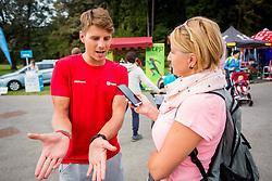 Zan Kosir during Triglav tek, on September 9, 2017 in Brdo pri Kranju, Kranj. Photo by Ziga Zupan / Sportida