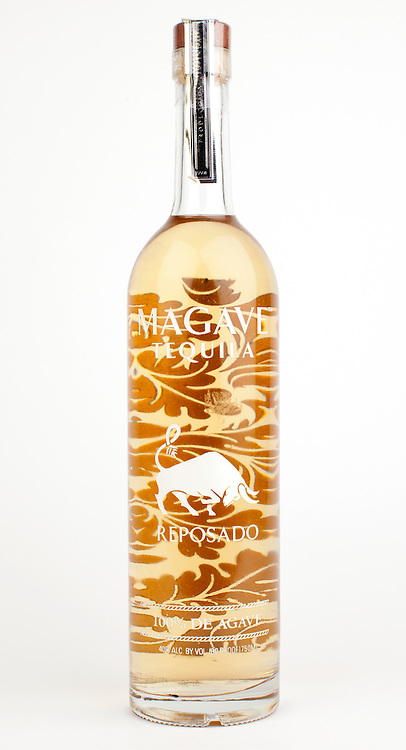 Magave reposado -- Image originally appeared in the Tequila Matchmaker: http://tequilamatchmaker.com