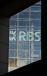 © Licensed to London News Pictures. 12/01/2012. London, UK. Royal Bank of Scotland (RBS) London HQ at Liverpool Street today (12/01/2012). RBS) has said it will cut a further 3,500 jobs, with most of them to happen this year. The cuts are part of a reorganisation and shrinkage of its investment bank. Photo credit : Ben Cawthra/LNP