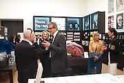 DAMIEN HIRST; JAY JOPLING; MAIA NORMAN, Damien Hirst, Tate Modern: dinner. 2 April 2012.