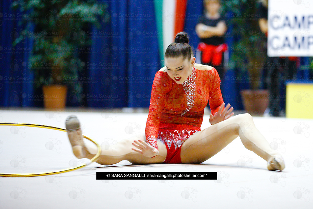 Virtus Gallarate Alina Maksymenko , rhythmic gymnast