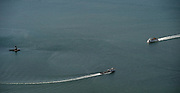 4/25/14 :: FILE :: The Cross Sound ferries M/V New London, left, and M/V John H. motor through Long Island Sound near Orient Point Light  Aerial file photos Friday, April 25, 2014.  (Sean D. Elliot/The Day)