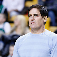 12 December 2012: Owner of the National Basketball Association's Dallas Mavericks Mark Cuban is seen prior to the Boston Celtics 117-115 2 overtimes victory over the Dallas Mavericks at the TD Garden, Boston, Massachusetts, USA.