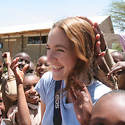 Drew Barrymore in Africa