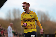Oxford United forward Ryan Taylor during the The FA Cup third round match between Oxford United and Swansea City at the Kassam Stadium, Oxford, England on 10 January 2016. Photo by Jemma Phillips.