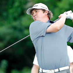 Apr 29, 2012; Avondale, LA, USA; Jason Dufner tees off from tenth hole during the final round of the Zurich Classic of New Orleans at TPC Louisiana. Mandatory Credit: Derick E. Hingle-US PRESSWIRE