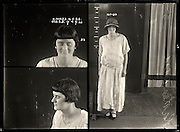 The barber shop slasher, the back-street abortionist and the 'parasite in a skirt': Vintage Australian mugshots reveal some of the country's earliest women criminals<br /> <br /> Haunting images of the past have emerged, showing vintage black and white portraits of Australian women.<br /> But these are no ordinary women. These are the not-so-innocent faces of convicted criminals who were put behind bars from the 1880s to 1930s.<br /> Among them include the infamous razor gangster and prominent madam of the times - Matilda 'Tilly' Devine.<br /> Others include backyard abortionists, drug dealers and those convicted of bigamy, drunkenness and theft.<br /> most of them were sent to the State Reformatory for Women, Long Bay - south of Sydney - which is now known as Long Bay Correctional Complex.<br /> <br /> <br /> Photo shows:  Kathleen Ward, criminal record number 658LB, 14 May 1925. State Reformatory for Women, Long Bay.<br /> <br /> Kathleen Ward had convictions for drunkenness, indecent language and theft. She obviously enjoyed thumbing her nose at the authorities, as can be seen in this image where she appears to have deliberately fluttered her eyes in order to ruin the long-exposure photograph. DOB: 1904.<br /> ©NSW Police Gazette/Exclusivepix