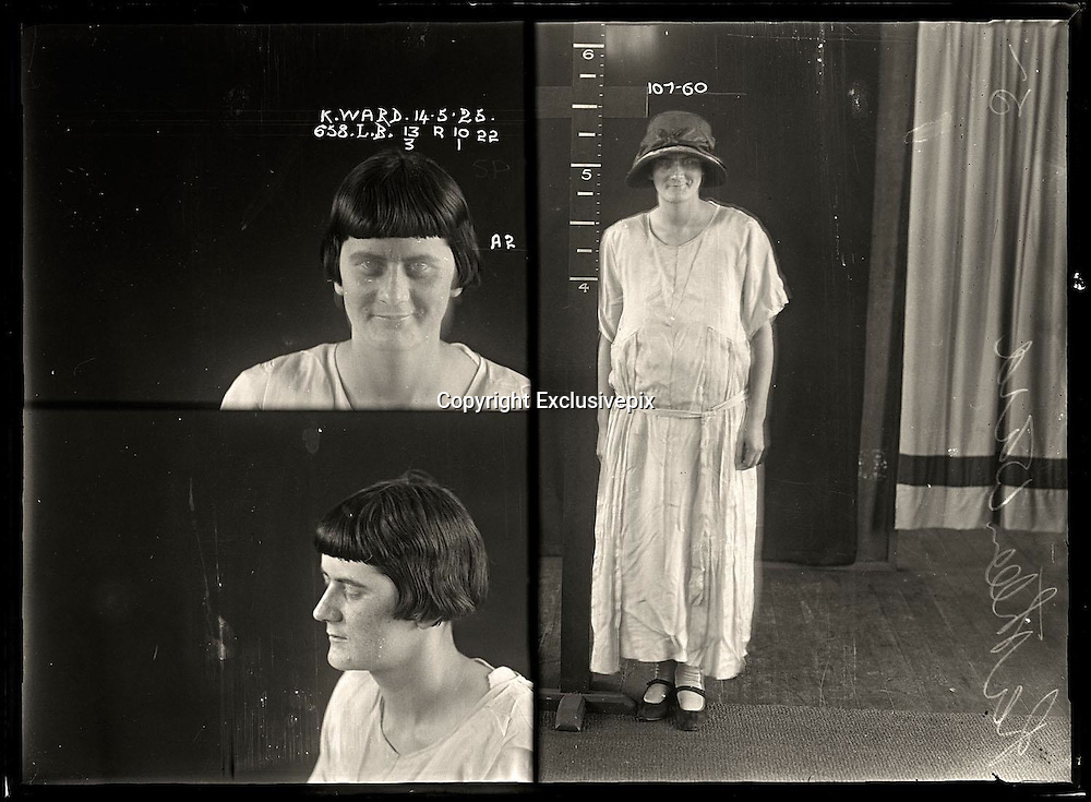 The barber shop slasher, the back-street abortionist and the 'parasite in a skirt': Vintage Australian mugshots reveal some of the country's earliest women criminals<br /> <br /> Haunting images of the past have emerged, showing vintage black and white portraits of Australian women.<br /> But these are no ordinary women. These are the not-so-innocent faces of convicted criminals who were put behind bars from the 1880s to 1930s.<br /> Among them include the infamous razor gangster and prominent madam of the times - Matilda 'Tilly' Devine.<br /> Others include backyard abortionists, drug dealers and those convicted of bigamy, drunkenness and theft.<br /> most of them were sent to the State Reformatory for Women, Long Bay - south of Sydney - which is now known as&nbsp;Long Bay Correctional Complex.<br /> <br /> <br /> Photo shows:  Kathleen Ward, criminal record number 658LB, 14 May 1925. State Reformatory for Women, Long Bay.<br /> <br /> Kathleen Ward had convictions for drunkenness, indecent language and theft. She obviously enjoyed thumbing her nose at the authorities, as can be seen in this image where she appears to have deliberately fluttered her eyes in order to ruin the long-exposure photograph. DOB: 1904.<br /> &copy;NSW Police Gazette/Exclusivepix