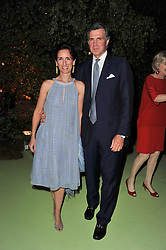 PRINCE & PRINCESS KARL VON AUERSPERG-BREUNNER at a dinner hosted by Cartier in celebration of the Chelsea Flower Show held at Battersea Power Station, 188 Kirtling Street, London SW8 on 23rd May 2011.