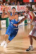 DESCRIZIONE : Bormio Torneo Internazionale Gianatti Italia Croazia <br /> GIOCATORE : Matteo Soragna <br /> SQUADRA : Nazionale Italiana Uomini <br /> EVENTO : Bormio Torneo Internazionale Gianatti <br /> GARA : Italia Croazia <br /> DATA : 01/08/2007 <br /> CATEGORIA : Penetrazione <br /> SPORT : Pallacanestro <br /> AUTORE : Agenzia Ciamillo-Castoria/S.Silvestri Galleria : Fip Nazionali 2007 <br /> Fotonotizia : Bormio Torneo Internazionale Gianatti Italia Croazia <br /> Predefinita :