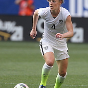 Becky Sauerbrunn, U.S. Women's National Team, in action during the U.S. Women's National Team Vs Korean Republic, International Soccer Friendly in preparation for the FIFA Women's World Cup Canada 2015. Red Bull Arena, Harrison, New Jersey. USA. 30th May 2015. Photo Tim Clayton