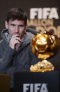 Fussball FIFA Ballon D'or 2012