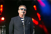 Suggs during the GrandSlam Madness tour at the BrightonandHoveJobs.com County Ground, Hove, United Kingdom on 28 June 2015. Photo by Phil Duncan.
