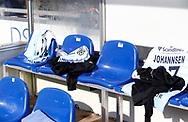 FODBOLD: Reservernes trøjer er klar før kampen i ALKA Superligaen mellem FC Helsingør og FC København den 17. september 2017 på Helsingør Stadion. Foto: Claus Birch