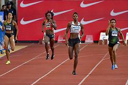 July 20, 2018 - Monaco - 400 metres dames - Libania Grenot (Italie) - Jessica Beard (Etat Unis) - Shaunae Miller Uibo (Bahamas) - Salwa Eid Naser  (Credit Image: © Panoramic via ZUMA Press)