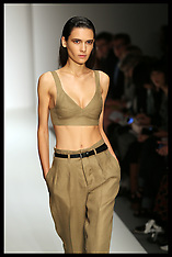 SEP 14 2014 Margaret Howell show at London Fashion Week- S-S 15