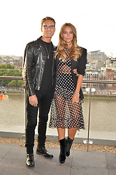 Ollie Proudlock and Emma Louise Connolly at the Emporio Armani YOU fragrance launch at Sea Containers, 18 Upper Ground, London England. 20 July 2017.<br /> Photo by Dominic O'Neill/SilverHub 0203 174 1069 sales@silverhubmedia.com